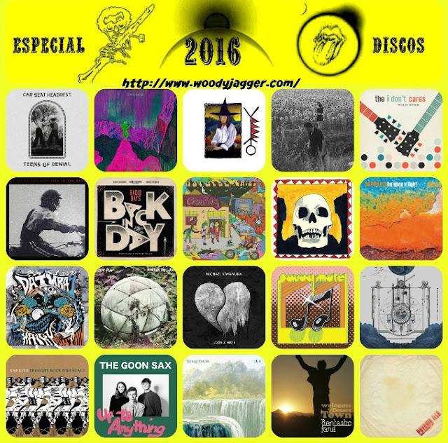 Los 20 mejores discos del 2016