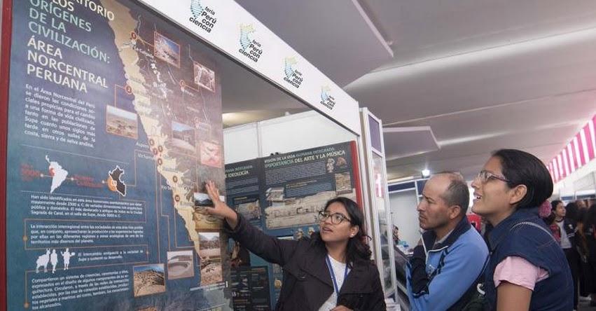 PERÚ CON CIENCIA: Concytec descentraliza el mayor evento de divulgación científica y tecnológica del país (08 al 10 Noviembre - Trujillo)