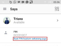 Cara Buat PIN BBM Cantik Secara Gratis di Android