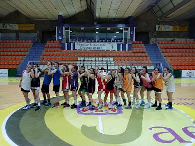 Las chicas del Jaén CB representarán a la provincia en el Campeonato de Andalucía Sénior Femenino (2018)