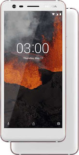 Nokia 3.1 White Iron