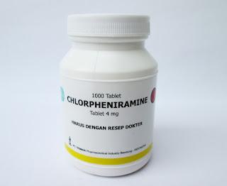 Dosis dan Efek Obat CTM (Chlorpheniramine Maleat)