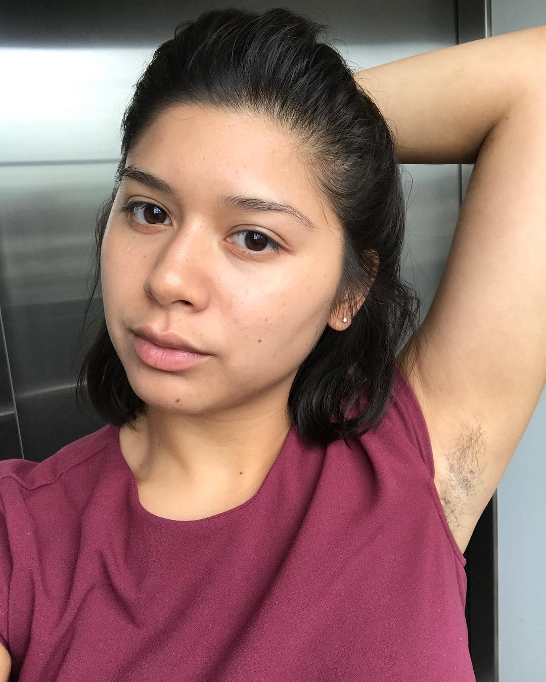 Hairy armpit licker