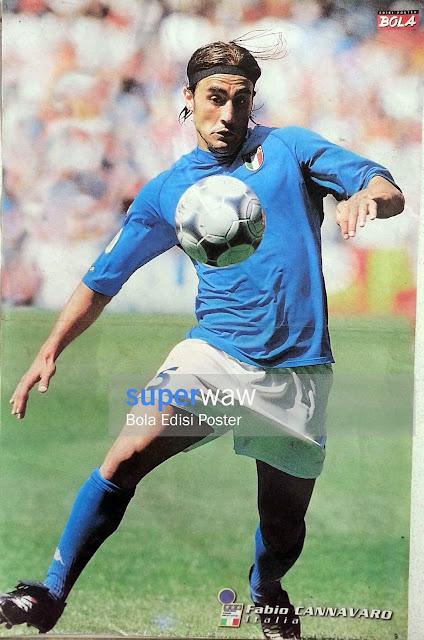 Poster Fabio Cannavaro (Italia)