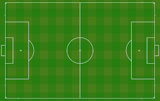هل يمكن ان يكون ملعب كرة القدم على شكل مربع
