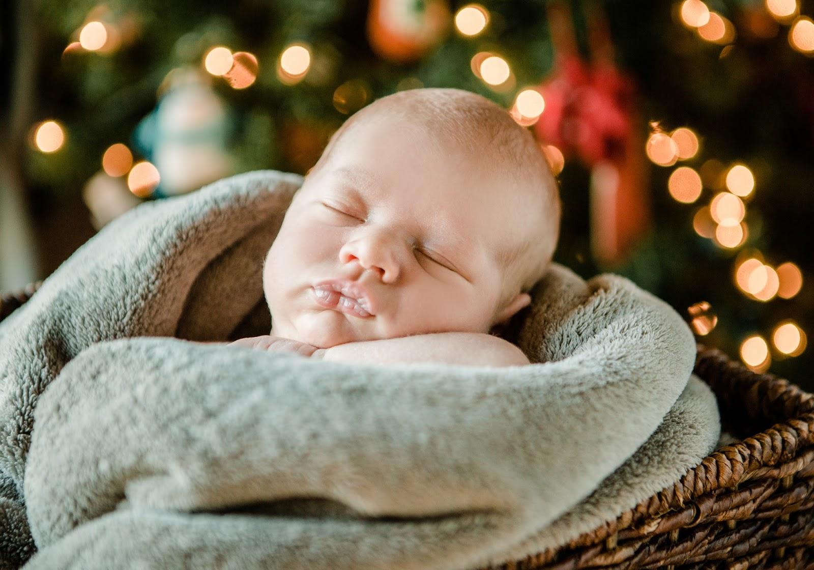 christmas newborns