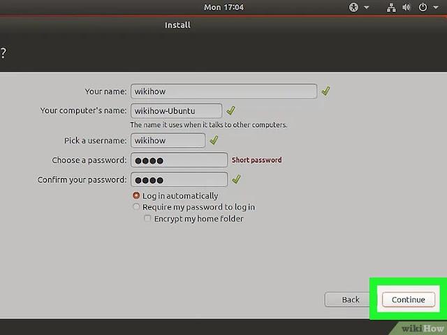 كيفية تثبيت نظام أوبونتو لينكس مع الوندوز