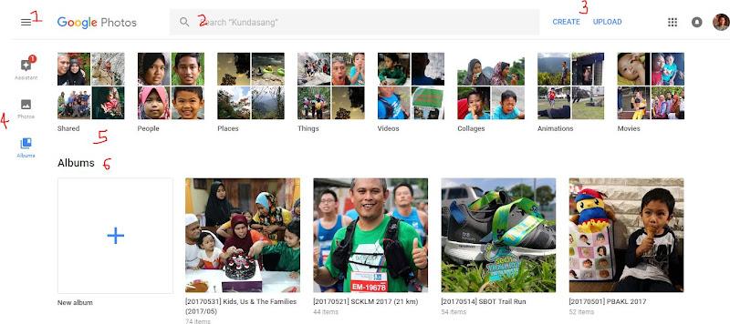 Screenshot Google Photos