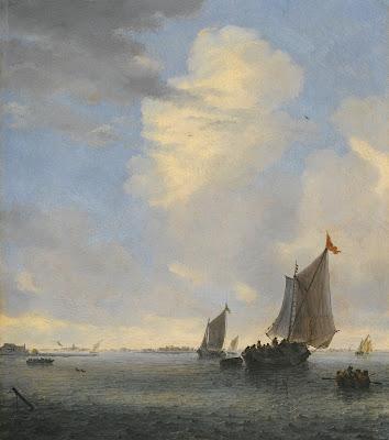 van Ruysdael, Statki