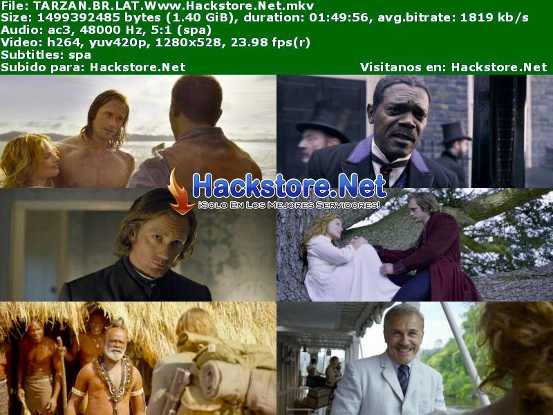 Capturas de La Leyenda de Tarzán (2016) Blu-Ray RIP HD Latino