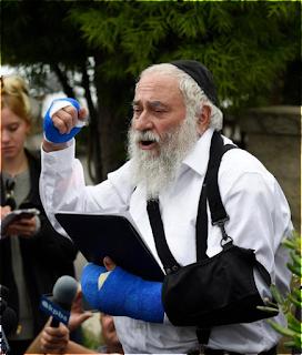 Um terrorista tentou me matar porque eu sou judeu