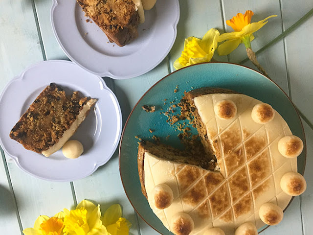 Simnel Cake, A traditional Easter bake