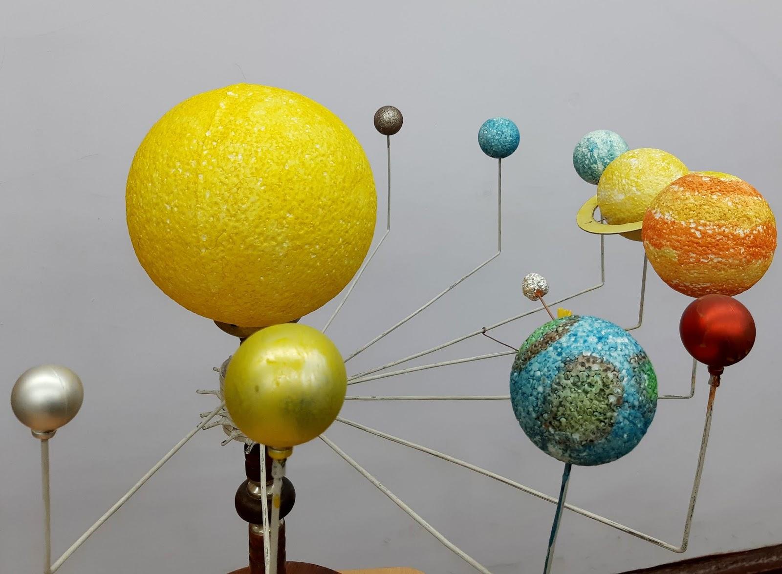 меня макет солнечной системы фото масштаб