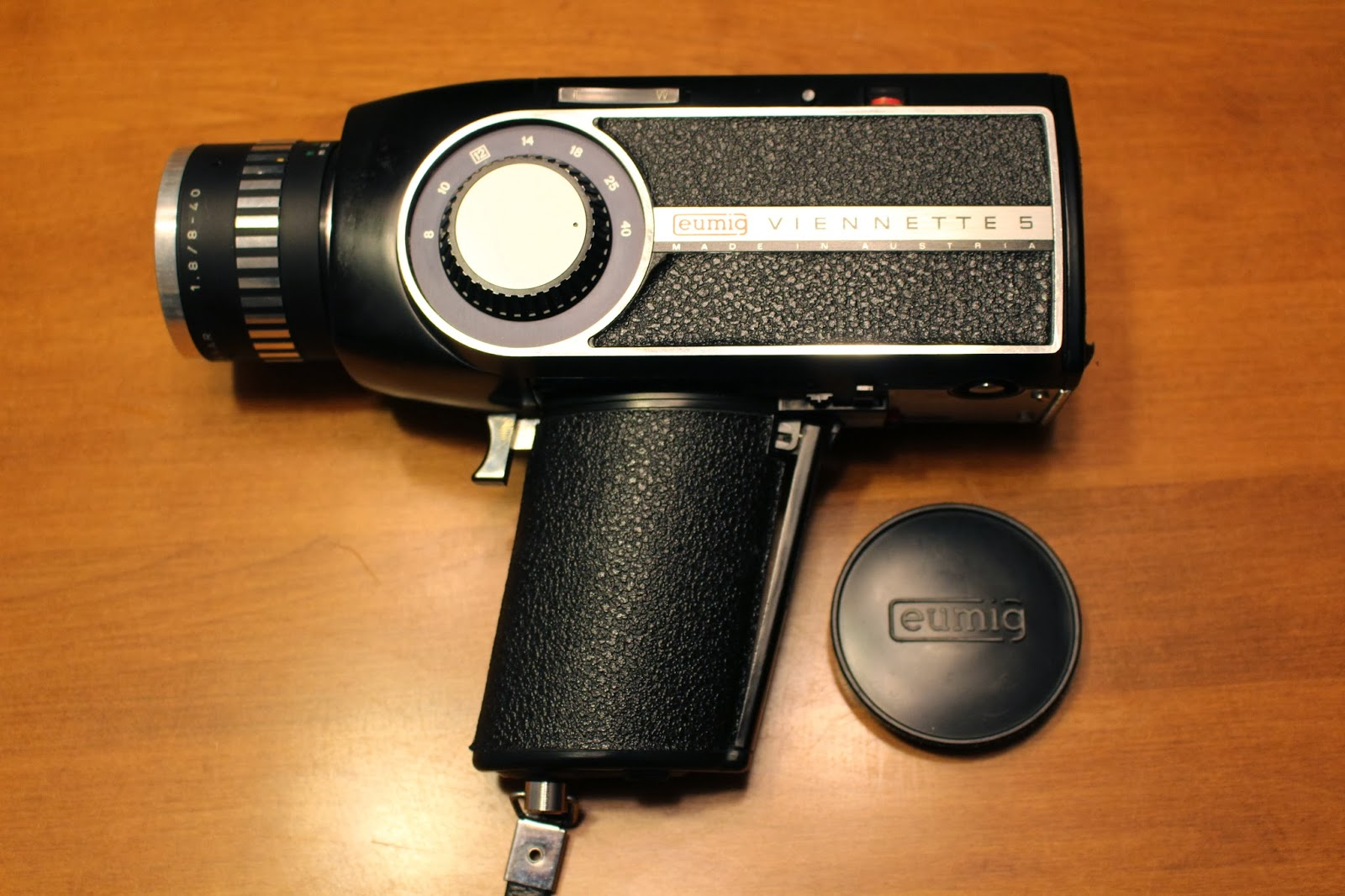 Eumig super 8 camera manual