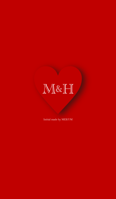 Heart Initial -M&H-