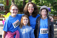Walk for Hope group smiles before walking