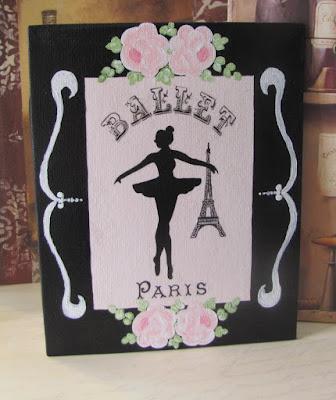 Paris Ballerina Ballet Decor
