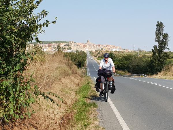 Ans Ende der Welt Etappe 30: Von Estella nach Logroño