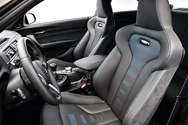 BMW M2 Competition bancos