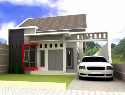 rumah idaman sederhana dan mewah minimalis 1 lantai di