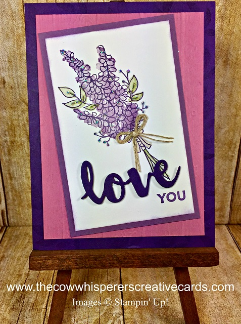 Card, Box, Lots of Lavender, Stampin UP