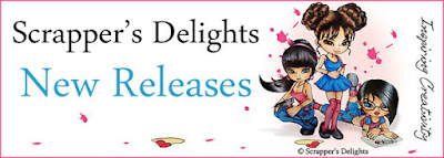 Image result for scrappers delights new release banner