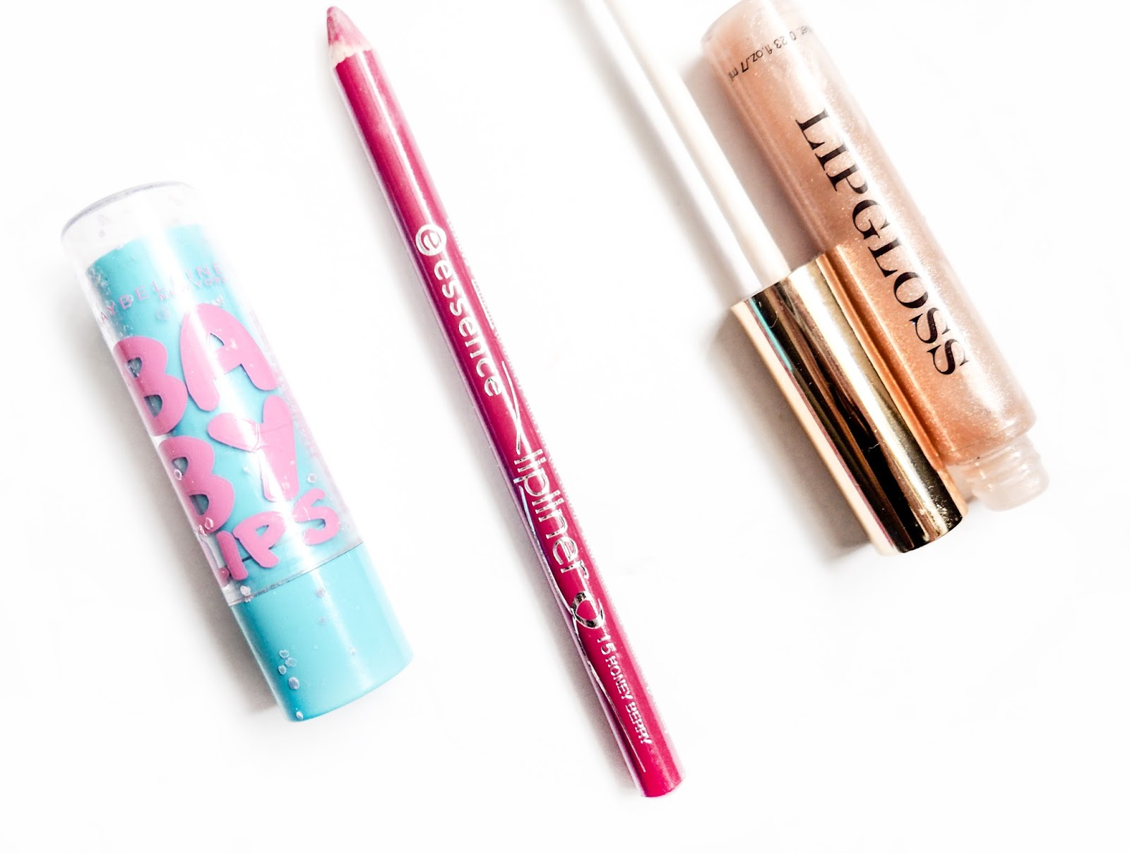 Disappointing Products Baby Lips Essence Lipliner H&M