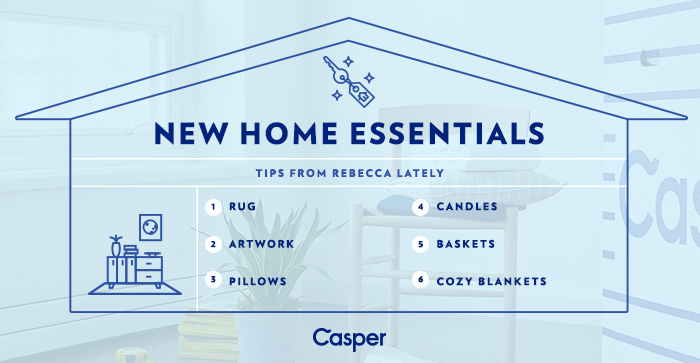 Rebecca Lately New Home Essentials Casper