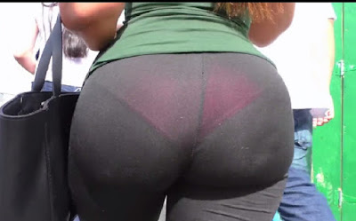 Video chava caderas anchas leggins