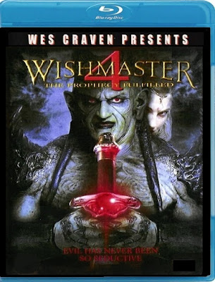 Wishmaster 4 The Prophecy Fulfilled 2002 Dual Audio BRRip 480p 150mb HEVC x265