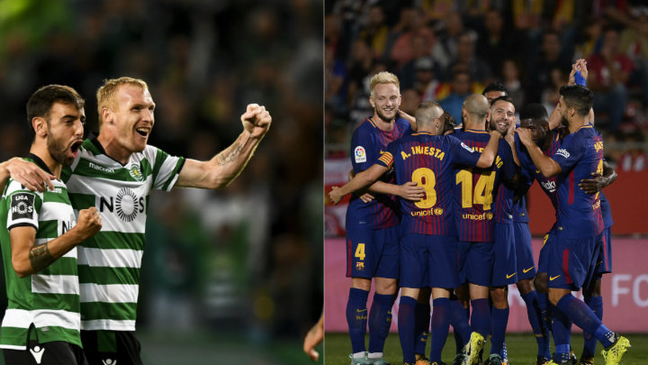 Sporting vs Barcelona EN VIVO por la UEFA Champions League