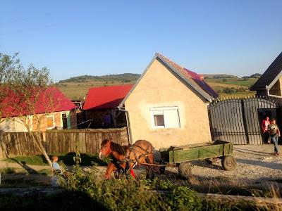 Rumuńska wioska