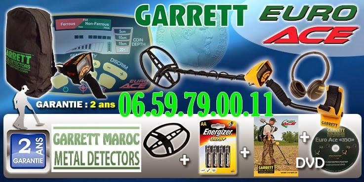 garrett euro ace description test prix au maroc. Black Bedroom Furniture Sets. Home Design Ideas