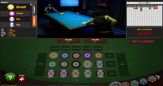 Cara Bermain Live Game Billiards