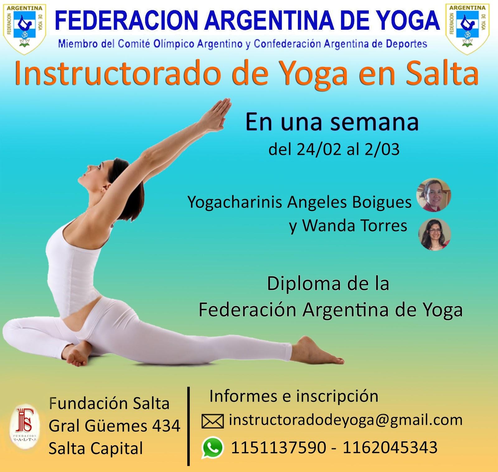 Centro De Yoga De Argentina 2016