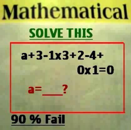 Maths Picture Equation Puzzle : Maths Picture Equation Puzzle