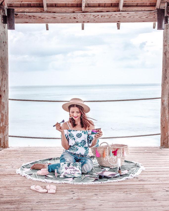 Inside My Makeup Bag – The Bahamas Edition