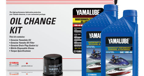 Yamaha Sport Boat Oil Change Kit in a Box