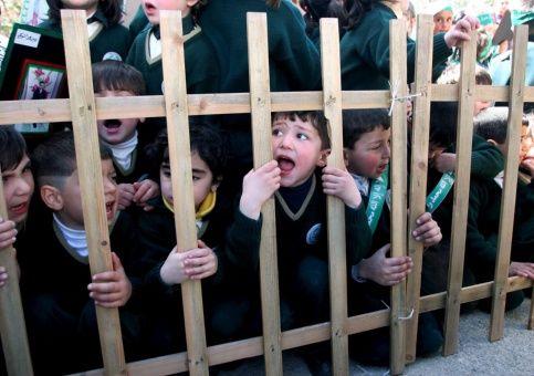 Unos 291 niños palestinos están presos en cárceles israelíes