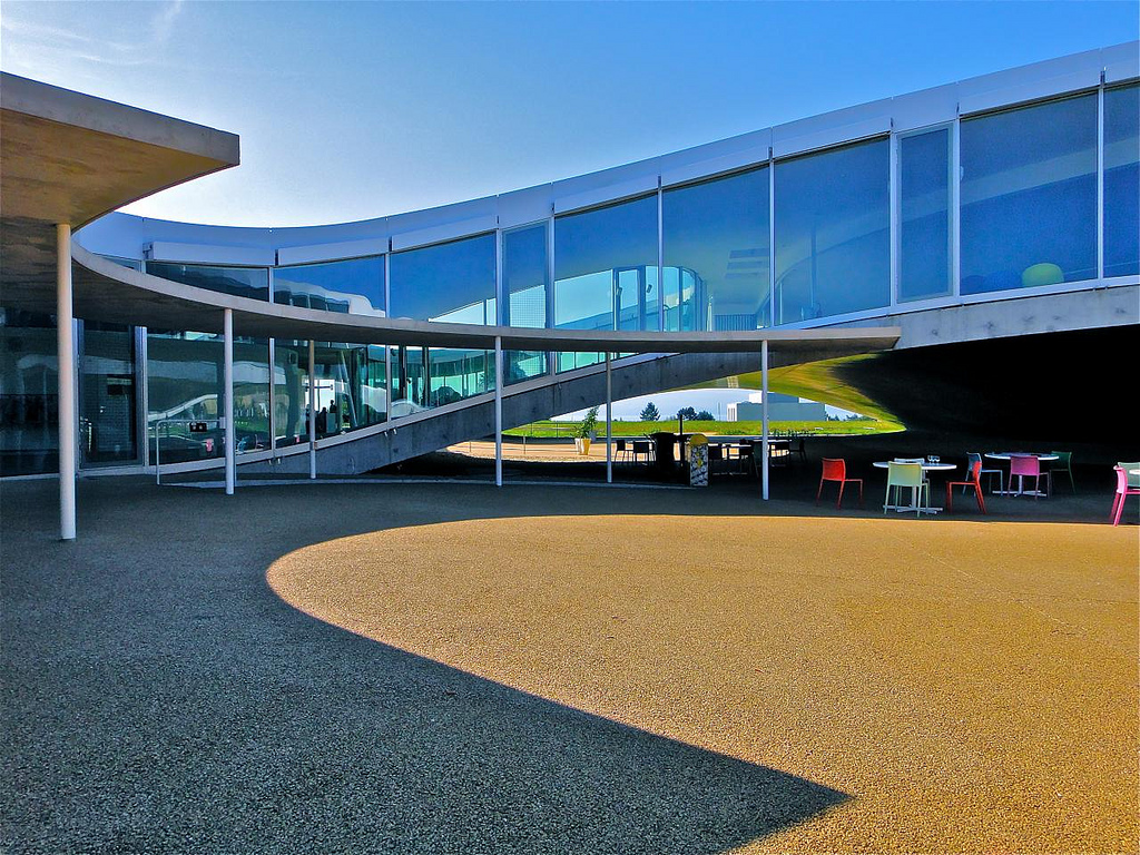 rolex learning center at epfl by sanaa