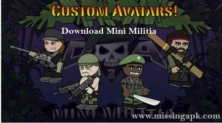 Download Mini Militia Apk-www.missingapk.com