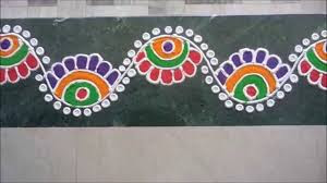 Flower Rangoli Borders