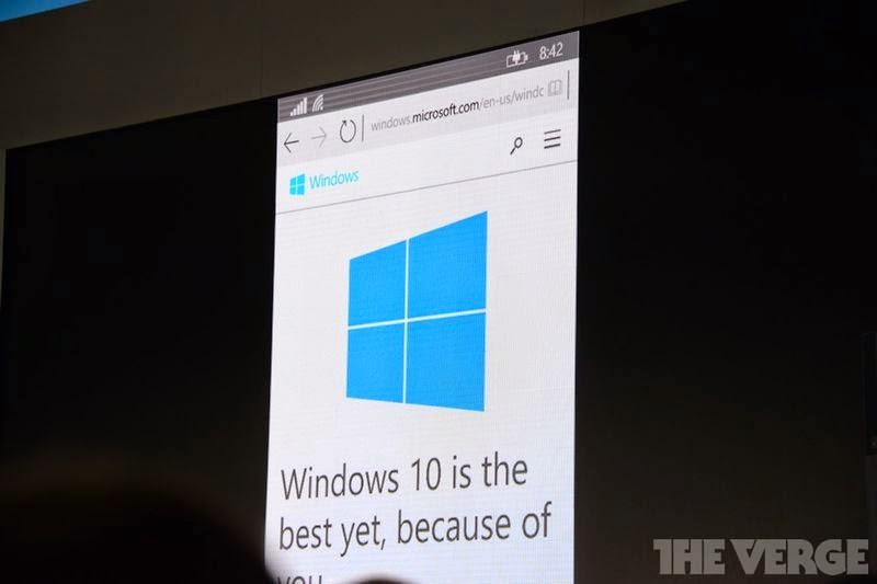 Microsoft memperkenalkan proyek  Spartan