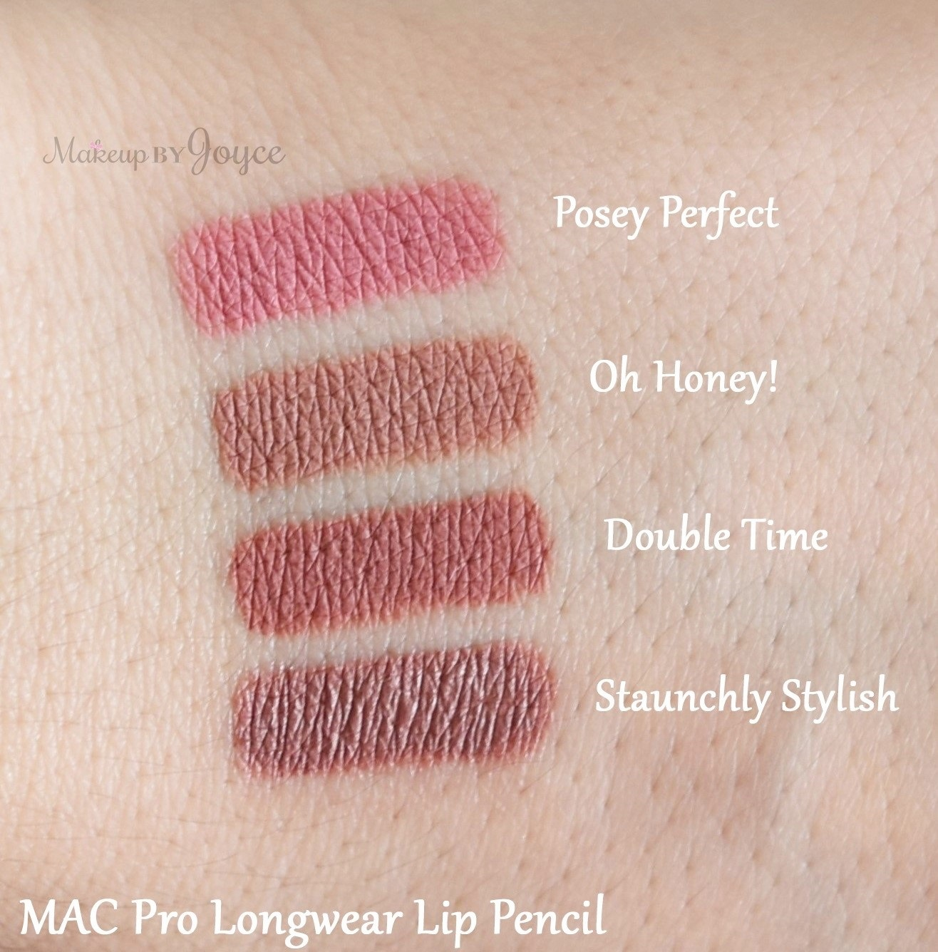 Makeupbyjoyce swatches review mac good luck for Perfect drink pro review