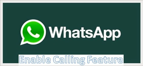 Activate WhatsApp Voice Calling Feature NKWorld4U