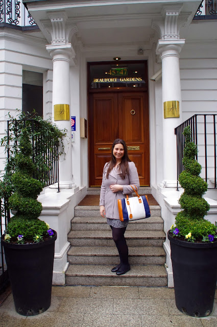 Girl at Beaufort House Luxury Apartments in Knightsbridge