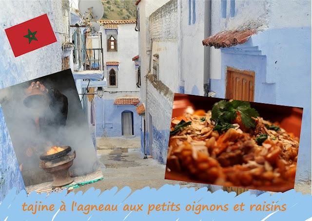 Tagine d' agneau, fête de l'Aid El Kebir, El Adha