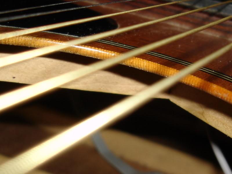 Mặt đàn guitar solid