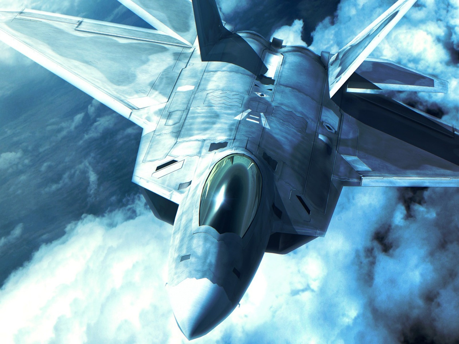 F-22 Raptor Jet Fighter HD Wallpapers ~ Military WallBase