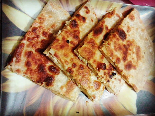Chicken Cheese Paratha : Ready to Serve